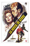 The Iron Mistress, Spanish Movie Poster, 1952 Posters