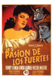 My Darling Clementine, Spanish Movie Poster, 1946 Posters
