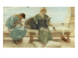 Youth, 1908 Prints by Sir Lawrence Alma-Tadema