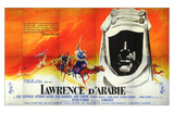 Lawrence of Arabia, French Movie Poster, 1963 Pósters