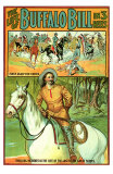 The Life of Buffalo Bill Print