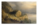 Slea Head on the North Shore of Dingle Bay, 1876 Giclee Print by Richard Bridges Beechey