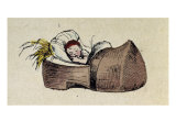 Tom Thumb- Illustration to 'Le petit Poucet' Giclee Print by Theodor Hosemann