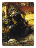 A Portrait of a Lady, 1882 Giclee Print by Theobald Chartran