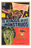 Attack of the Crab Monsters, Spanish Movie Poster, 1957 Poster