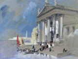 San Giorgio Maggiore, Venice Giclee Print by Hercules Brabazon Brabazon