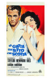 Cat On a Hot Tin Roof, Italian Movie Poster, 1958 Photo