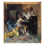 The Recital Giclee Print by Giovanni Boldini