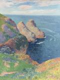 Les Falaises au Bord de la Mer, 1895 Prints by Henry Moret