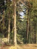 Forest, 1892 Reproduction procédé giclée par Ivan Ivanovitch Shishkin