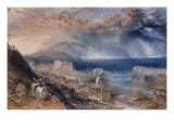 Wolf's Hope - from The Bride of Lammermoor Giclee Print by William Turner
