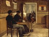 A Cafe Scene, 1890 Giclee Print by Jan Lodewijk Moerman