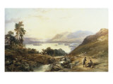 Sunset on Derwentwater from above Lodore, 1845 Giclee Print by Thomas Miles Richardson