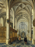 The Interior of a Church, 1625 Prints by Peter Neefs The Elder