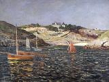 Le Fond du Port du Goulphar, Belle-Isle en Mer, 1909 Giclee Print by Maxime Emile Louis Maufra