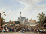 The Potters&#39; Fair at Ghent Gicl&#233;e-Druck von David Teniers the Younger