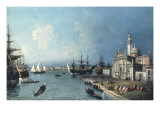 A View across the Bacino with San Giorgio Maggiore in the Foreground Prints by Jacopo Marieschi