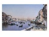 An Extensive View of the Grand Canal, Venice Giclée-Druck von Martin Rico y Ortega