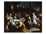 Christ in the House of Simon the Pharisee Giclee Print by Nicola Malinconico