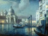 Santa Maria della Salute, Venice Giclee Print by Charles Hodge Mackie