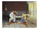 Scene Pompeienne, 1873 Prints by Raphael Poggi