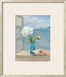 Coastal Floral I Prints by Danhui Nai