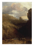 Dolbardern Castle Prints by William Turner