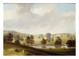 A View of Bedgebury Park, Kent, the Seat of the Law Family Giclee Print by Henry Bryan Ziegler