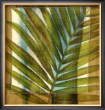 Seaside Palms II Print by Jennifer Goldberger