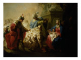 The Adoration of the Kings Poster by Januarius Zick