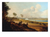 View of Dublin from Phoenix Park Giclee Print by William Saddler