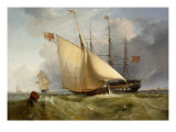 The Admiral's Barge returning to Shore Giclee Print by Charles Henry Seaforth