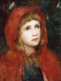 Red Riding Hood Giclee Print by William M. Spittle