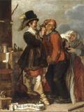 Guile Leads to Wealth Giclée-Druck von Adriaen Pietersz van de Venne
