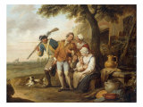 The Unwilling Recruit Posters by Francois Louis Joseph Watteau