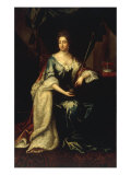 Portrait of Mary II Giclee Print by John van der Vaart