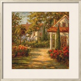 Sunlit Path Prints by Paul Burkett