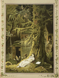 Snow White: When the Dwarfs Returned, They Discovered the Sleeping Snow White Giclee Print by V.p. Mohn