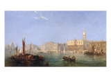 The Doges Palace from the Water, 1868 Giclee Print by James Edwin Meadows