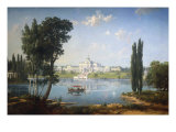 The Mansion House Maryno at Ivanovskoe Giclée-Druck von Paul von Francken