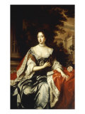 Portrait of Queen Mary Giclee Print by William Wissing