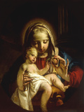The Madonna and Child Giclee Print by Francesco Zugno