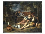 An Allegory of Love Posters by Jan Havicksz. Steen