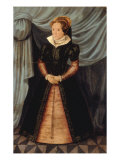 Portrait of Mary Tudor Giclee Print by Antonio More