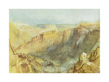 Luxembourg from the North Prints by J. M. W. Turner