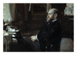 A Portrait of Sir Ernest Cassel, 1886 Giclee Print by Anders Leonard Zorn