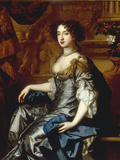 Portrait of Mary II (1662-94), when Princess of Orange Giclee Print by Peter Lely