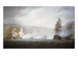 The Defeat of the Dutch Fleet off Egero, Norway, 22 August 1795, 1796 Posters by Nicholas Pocock