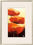 Three Red Poppies I Posters by Jettie Rosenboom