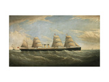 The White Star Steamship 'Germanic', 1876 Giclee Print by Isaac Joseph Witham